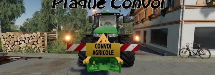 Farm Convoy Plate v1.0.0