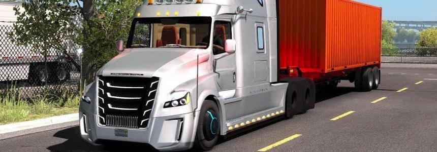 Freightliner Inspiration + Interior v1.0