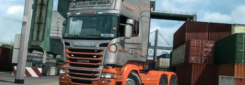 Global Port Services Scania RJL 1.33.x
