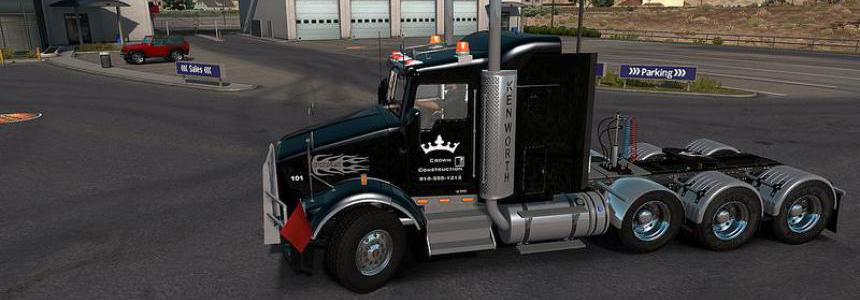 Kenworth T800 by dmitry68 for ATS 1.33.x