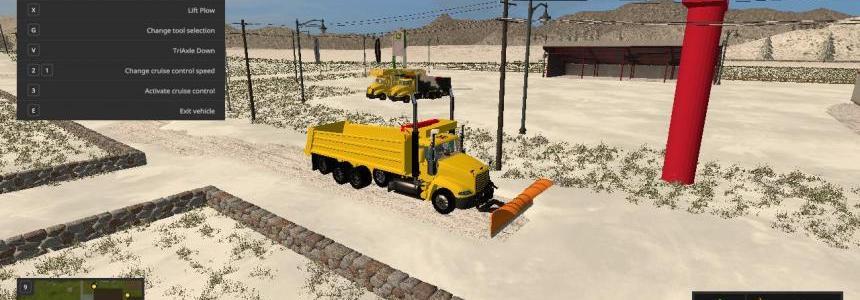 Mack vision plow truck v1.0.0.0