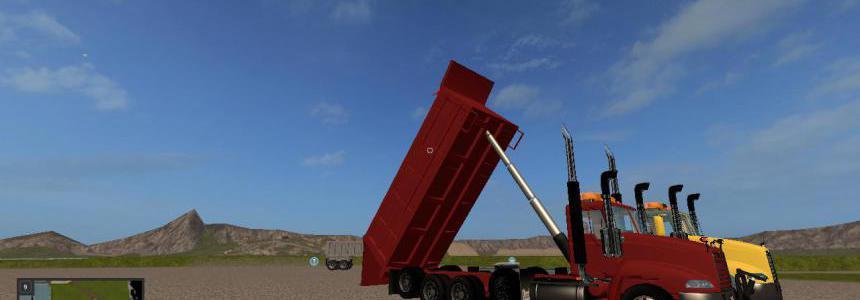 Mack vision square body dump truck v1.0.0.2