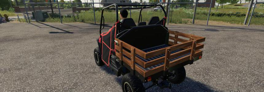 Mahindra Retriever Wooden Stake Bed v1.1