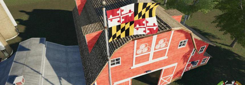 Maryland Flag v1.0.0.0