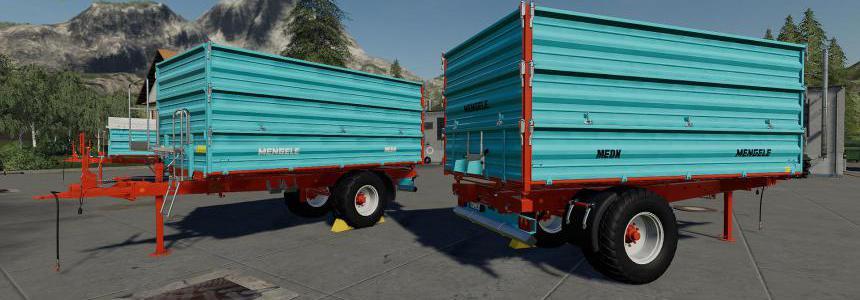Mengele MEDK Single Axle v1.0.0.0