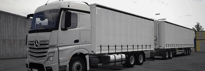 Mercedes Actros MP4 Rigid Chassis Mod v1.0