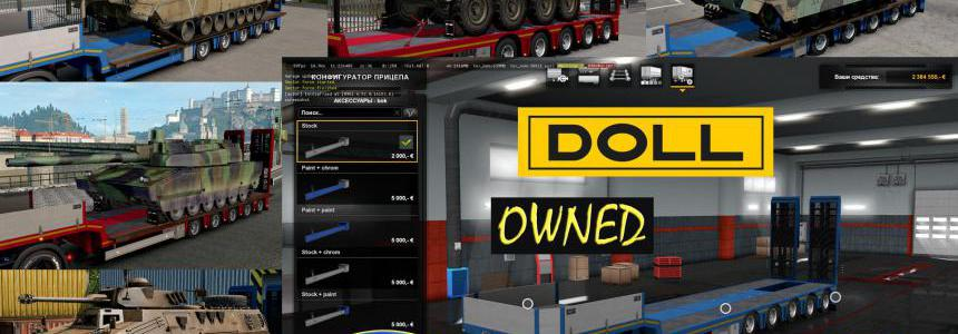 Military Addon for Ownable Trailer Doll Panther v1.0