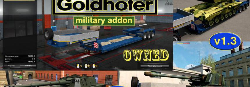 Military Addon for Ownable Trailer Goldhofer v1.3