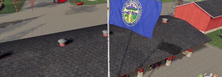 Nebraska Flag v1.0.0.0
