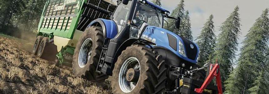 New Holland T7 By Agrar eG Oberberg
