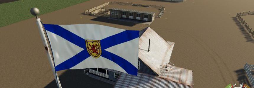 Nova scotia Flag v1.0.0.0