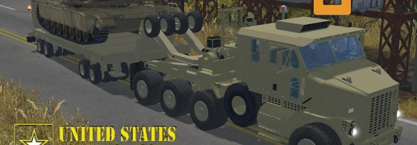 Oshkosh HET M1070 + trailer v3.0