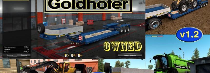 Ownable overweight trailer Goldhofer v1.2