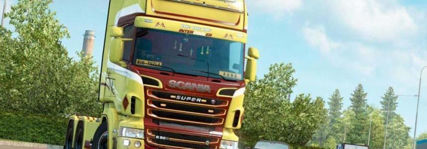 Scania RJL Dutch Style Skin 1.33.x