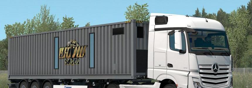 SCS On The Road Trailer v1.0