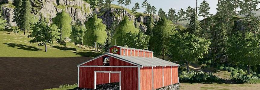 Small open ended storage barn v1.0