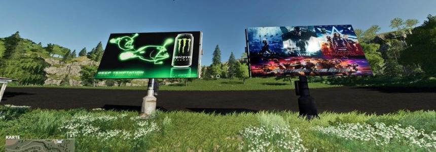 Solaranlage mit Werbung v1.1