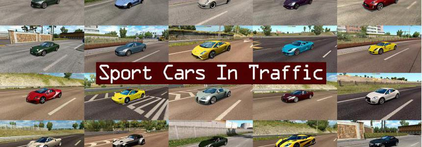 Sport Cars Traffic Pack by TrafficManiac v2.8