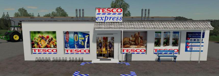 Tesco Express Milk & Eggs Selling Point V1.1