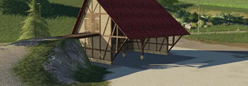 Timberframe Barn With Attic v1.0.0.1