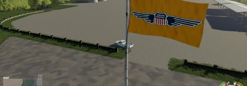 Tribute Union Pacific flag v1.0.0
