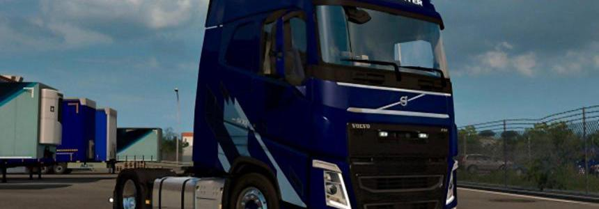 Tuning addon package for the Volvo FH Low deck v1 1 - Modhub us