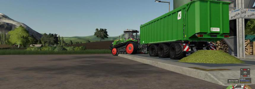 Unlimited capacity Kroeger TAW v1.2.0
