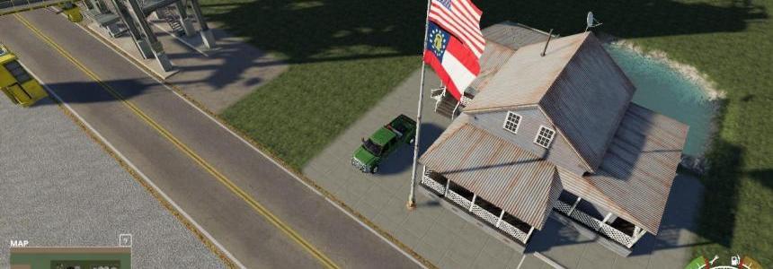 USA above Georgia State Flag v1.0.0