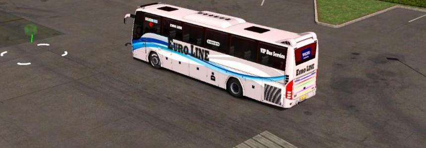VOLVO B9R-I Shift bus mods for euro line for 1.32 and 1.33.x