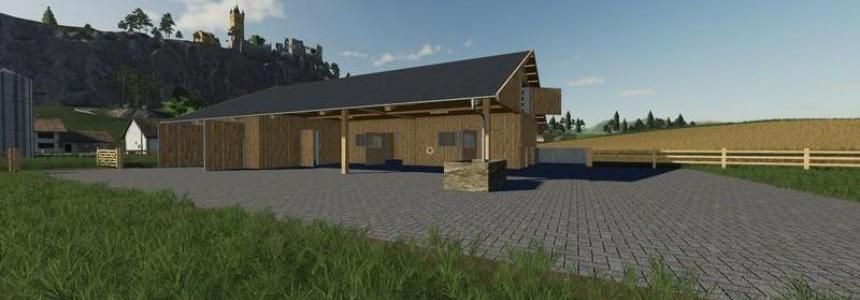 Wooden horse stable with dung v1.0.0.3