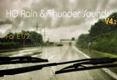 HQ Rain & Thunder sounds v4.2