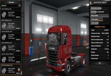 1000 HP Engine for Scanias 1.33.x