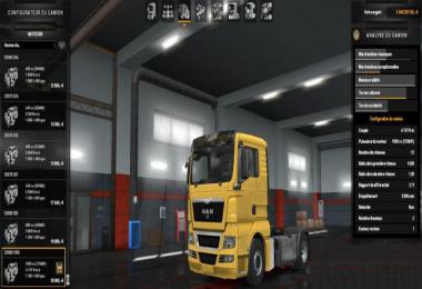 1000 HP for all MAN Trucks 1.33.x