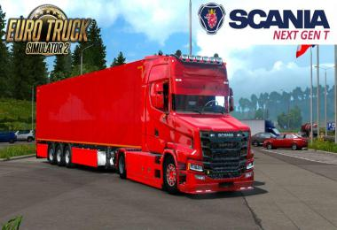 Scania T NextGen 4x2 + Interior + Trailer 1.33.x