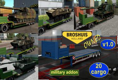 Military Addon for Ownable Trailer Broshuis v1.0
