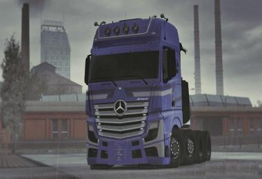 Mercedes Actros Stock Sound 1.33.x