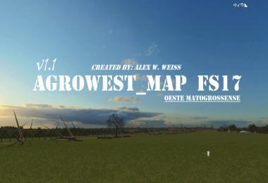 AgroWest Map. Oeste Matogrossense v1.1.0