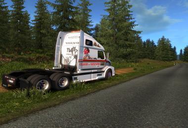 Aradeth Volvo VNL670 skin My ATS v1.0