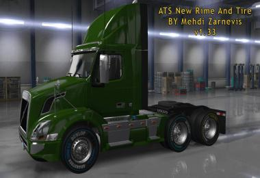 ATS 1.33 new RIM & TIRE v1.0.2