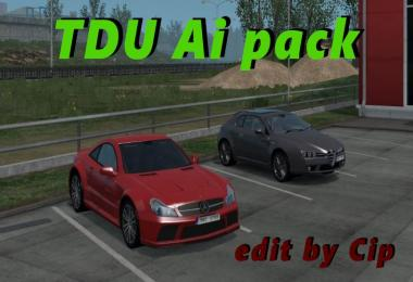 [ATS] TDU Traffic Pack v1.1 edit by Cip + Sounds 1.33