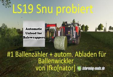 Auto Unload baler v1.0