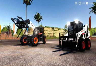 Bobcat 590 and Bobcat SkidSteer v1.0