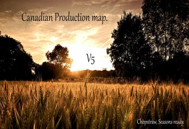 Canadian Production map v5.0
