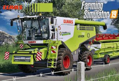 Claas Lexion 700 Series Full Pack v4.0