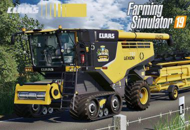 Claas Lexion 700 Series USA Edition v1.0