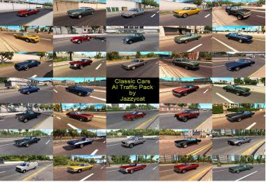 Classic Cars AI Traffic Pack by Jazzycat  v2.7