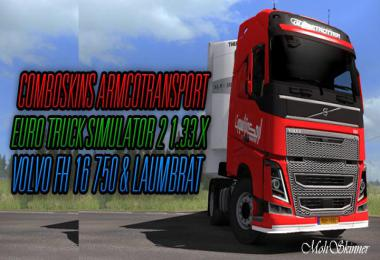 ComboSkins – ArmcoTransport – ETS2 1.33 1.32
