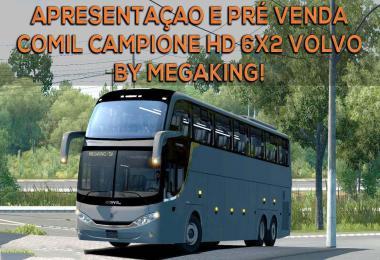 Comil Hd Volvo 6x2 1.33.x