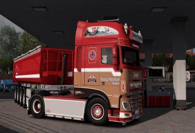 DAF & Trailer Ronny Ceusters Transport 1.33.x