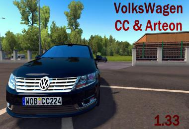 Dealer fix for Volkswagen CC & Arteon 1.33.x